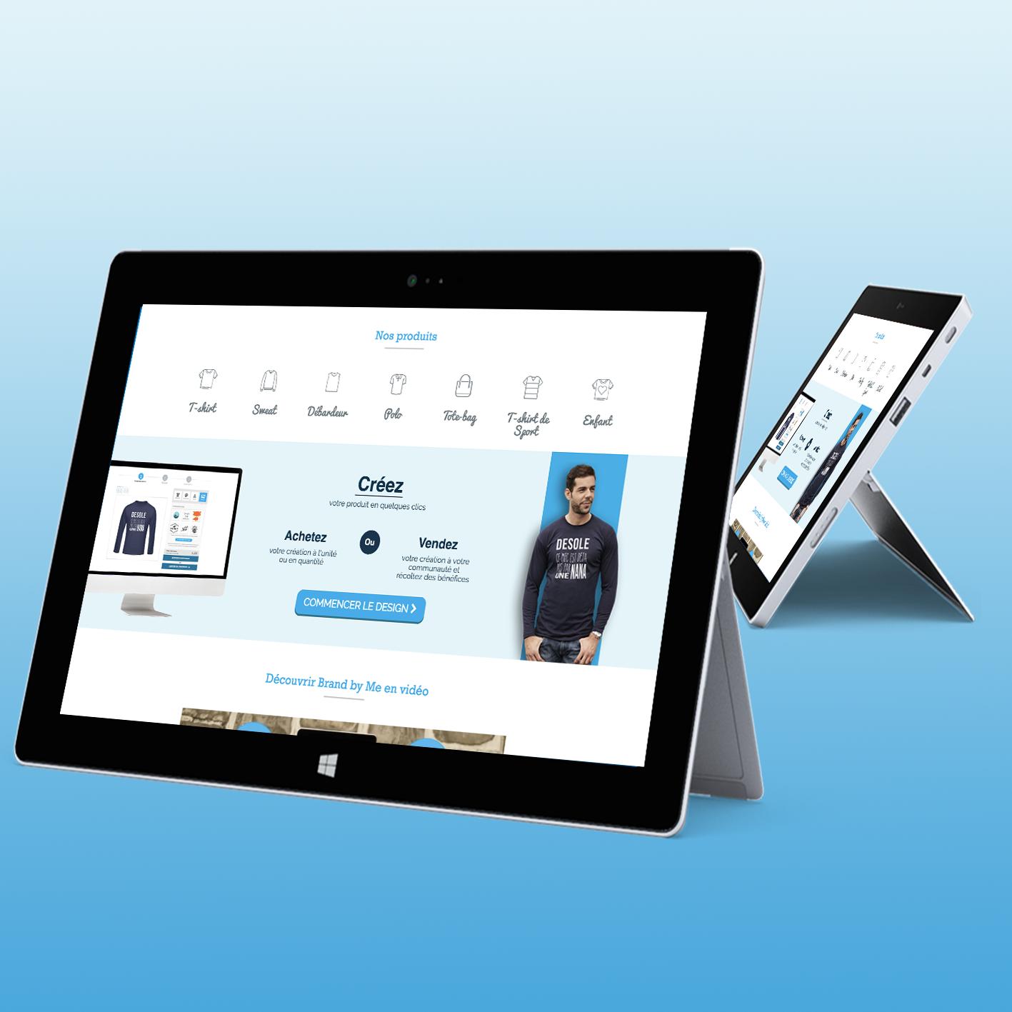 likeweb paris brandbyme studio développement sur mesure agence création personnalisation design angular php