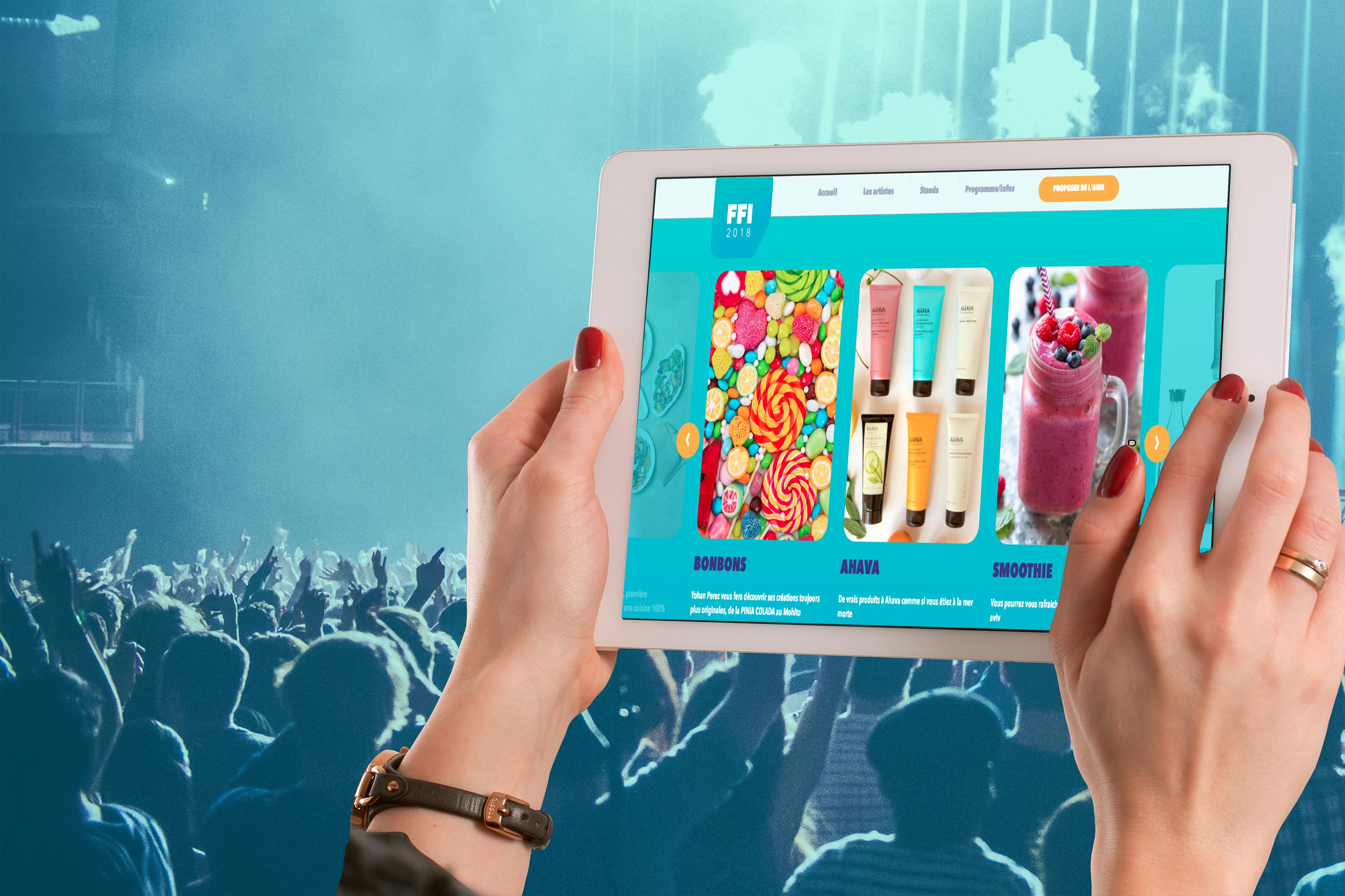 Agence web Likeweb Impact ergonomie utilisateur événementiel communication