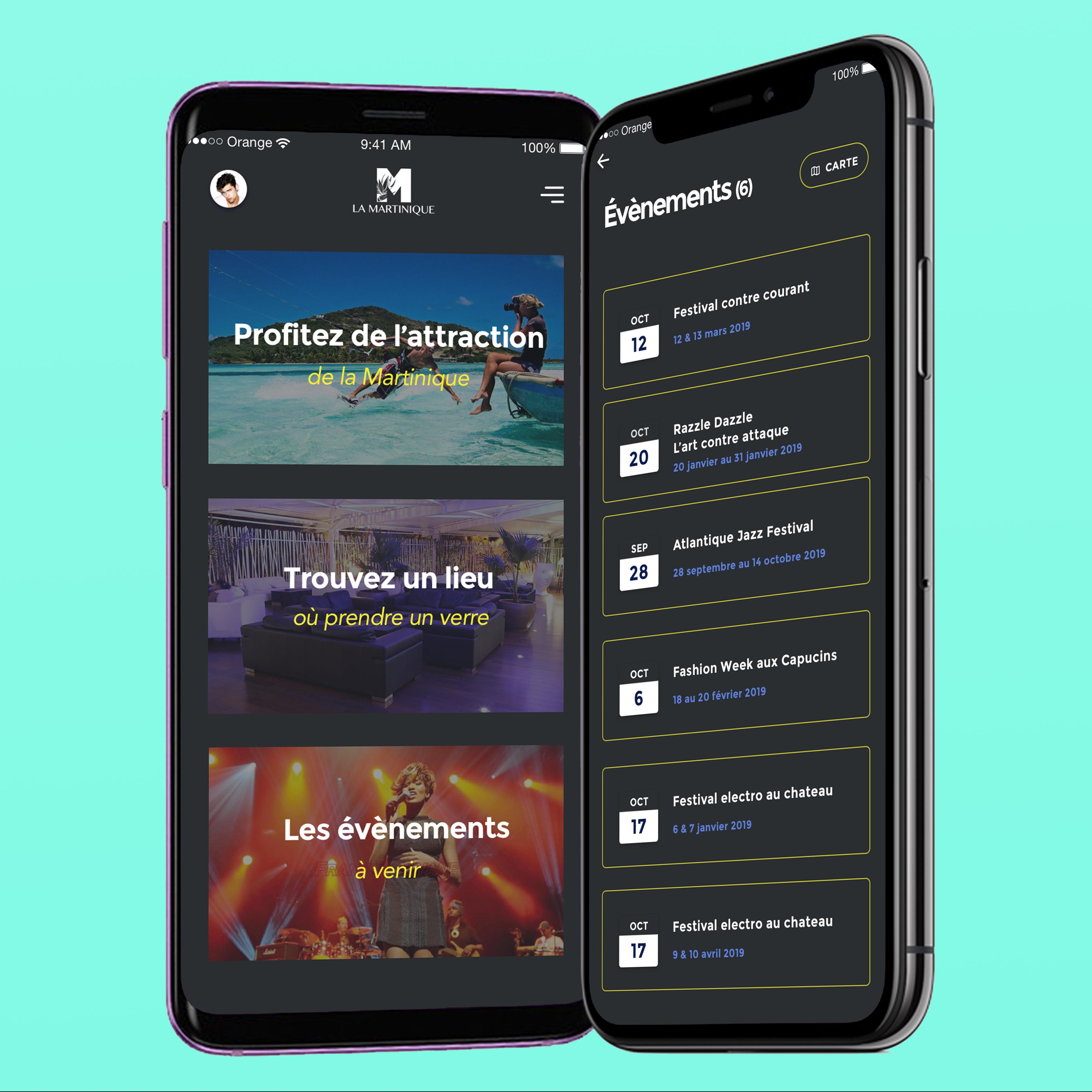 développement appli mobile swift gomartinique marketing design conception likeweb agency