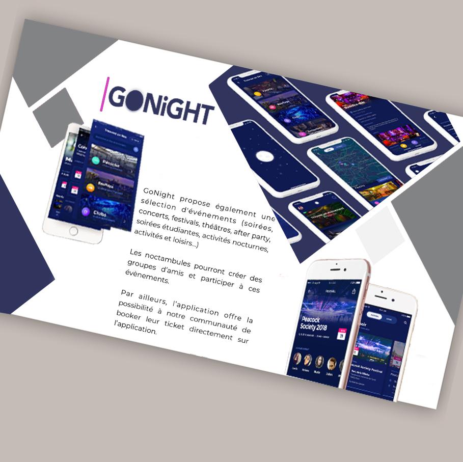 design conception application mobile gonight développement java swift reactnative