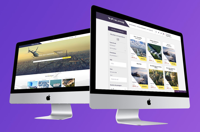 agence digitale communication et développement marketplace web