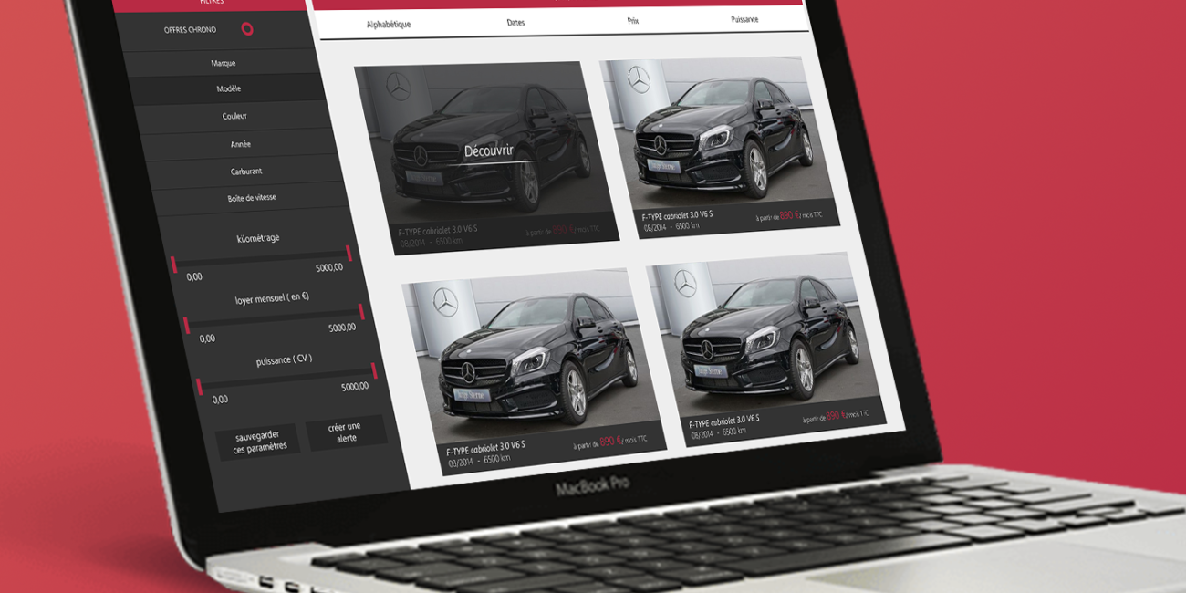 likeweb projet conception design application web agence