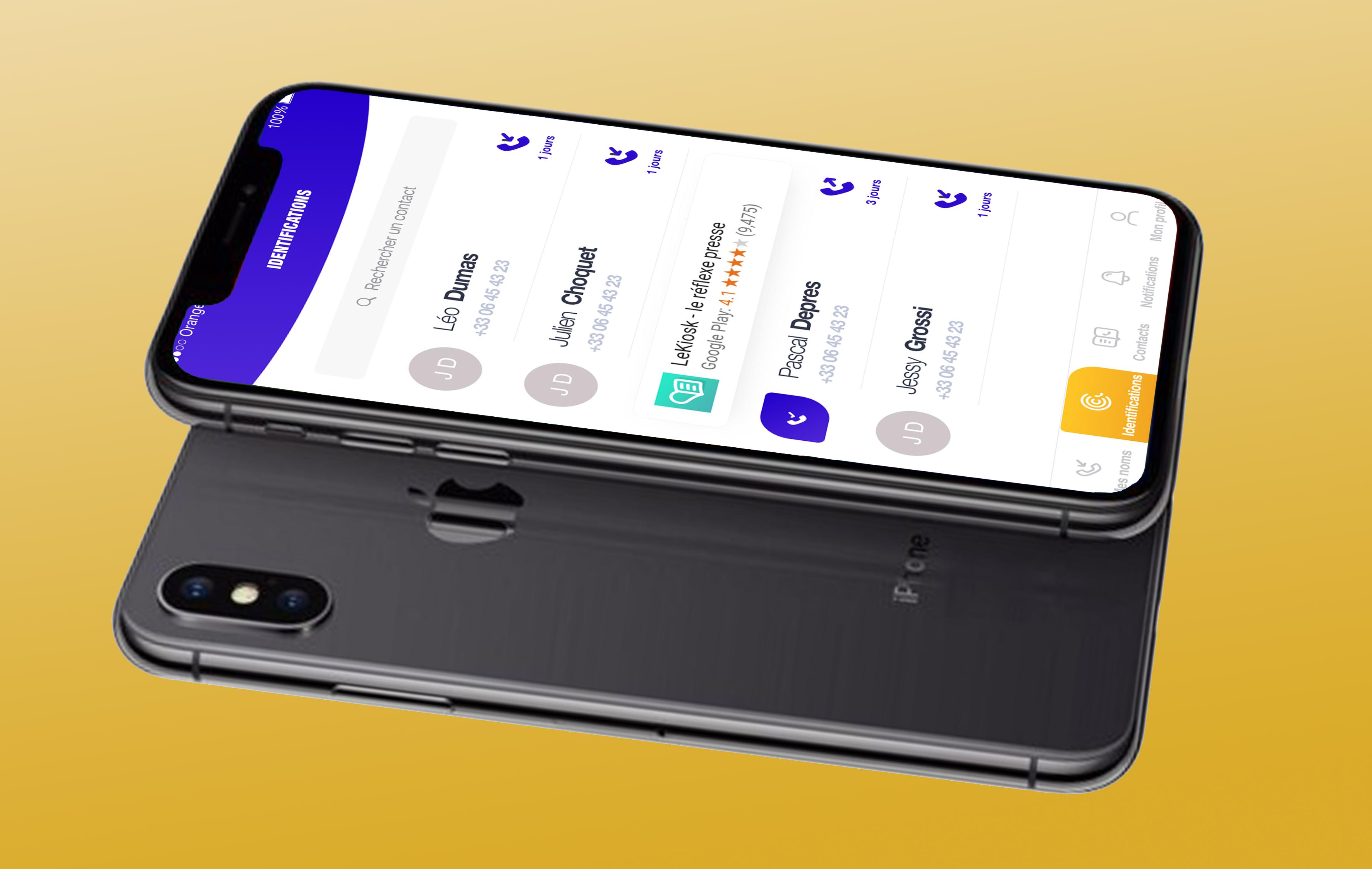 goname application mobile design marketing conception agence