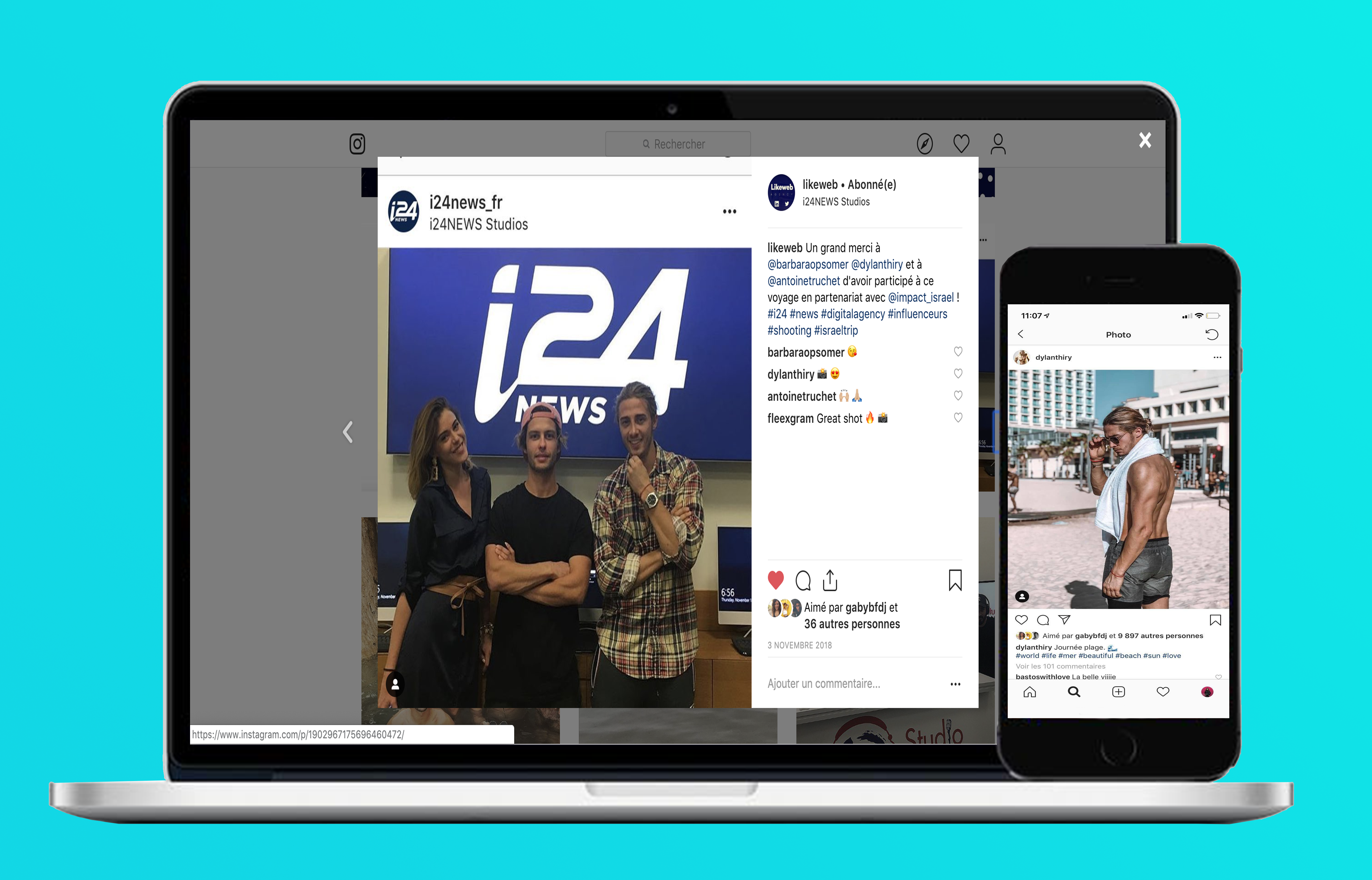 Impact social medias influenceurs digital agence likeweb