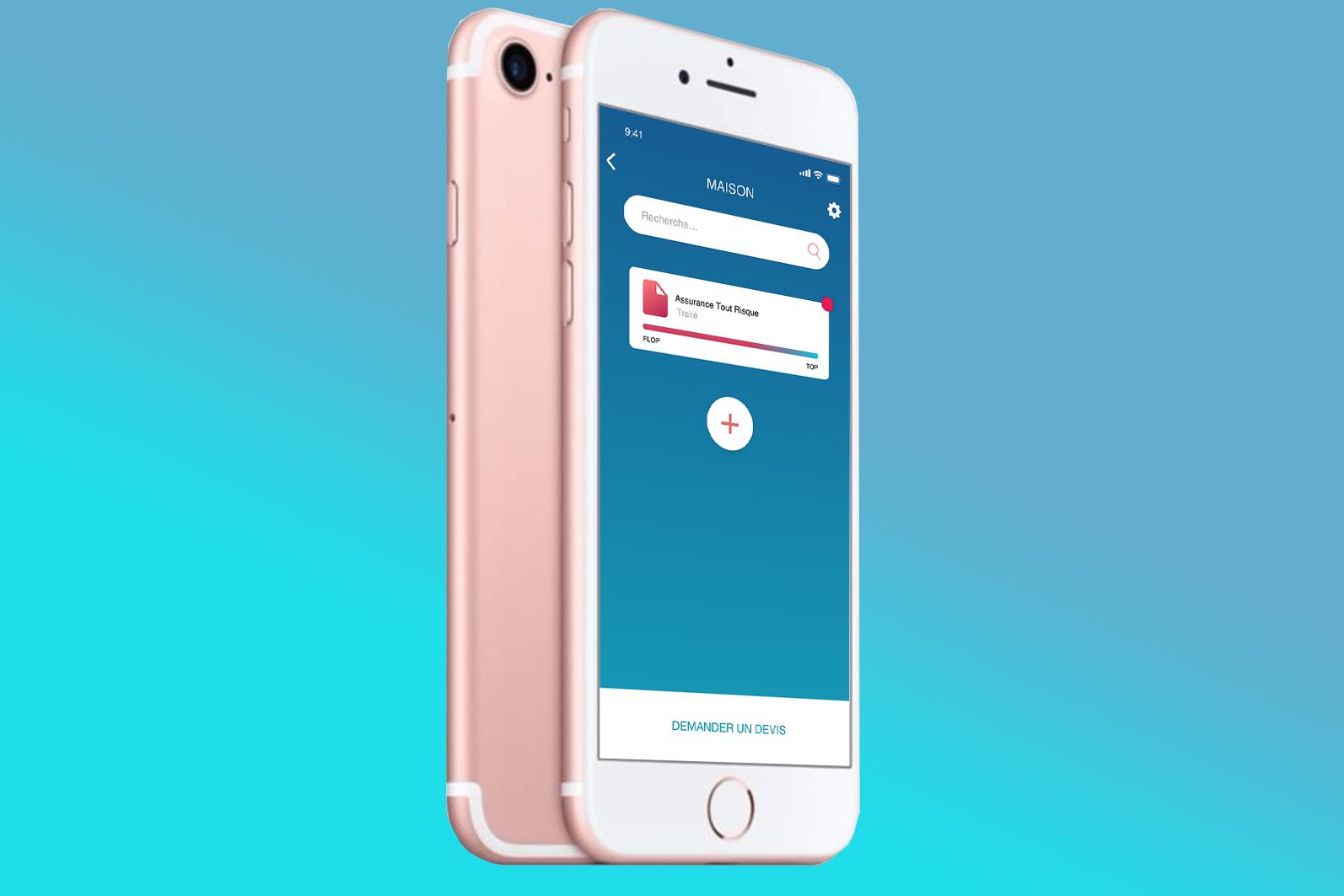 mobile application agence design social likeweb paris