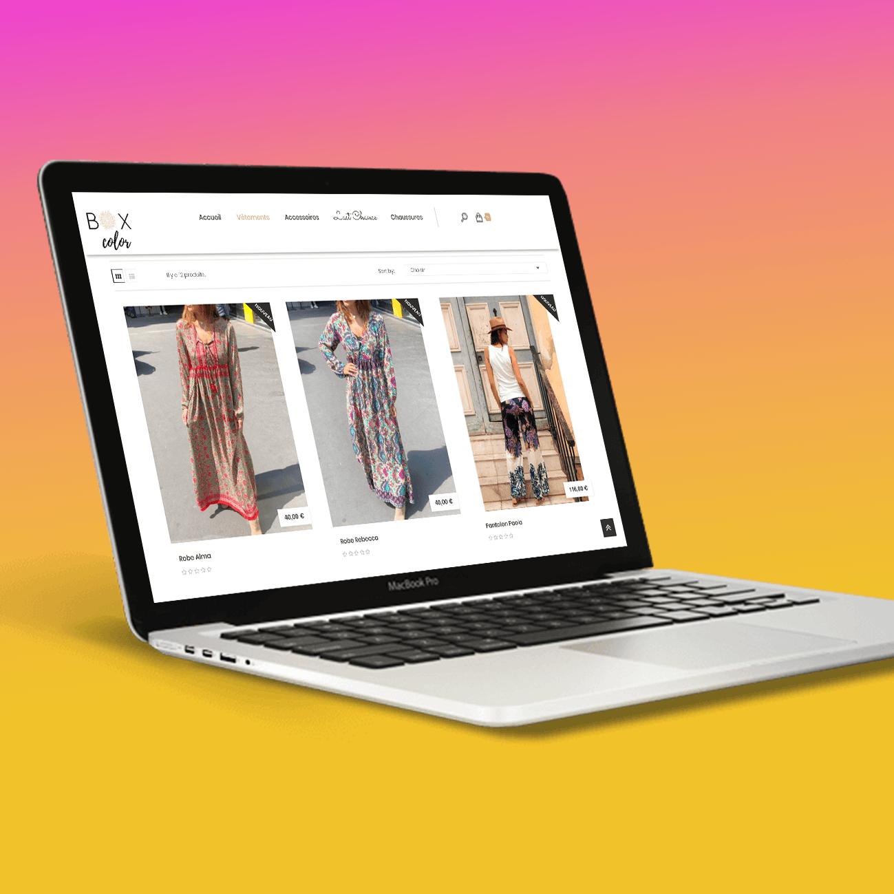 Boxcolor likeweb agency design site web création des chemins utilisateurs ergonomie site agence web