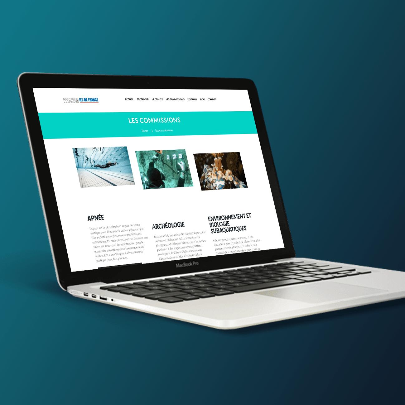 Agence Likeweb FFESM agence web création des chemins utilisateur design site web ergonomie site web