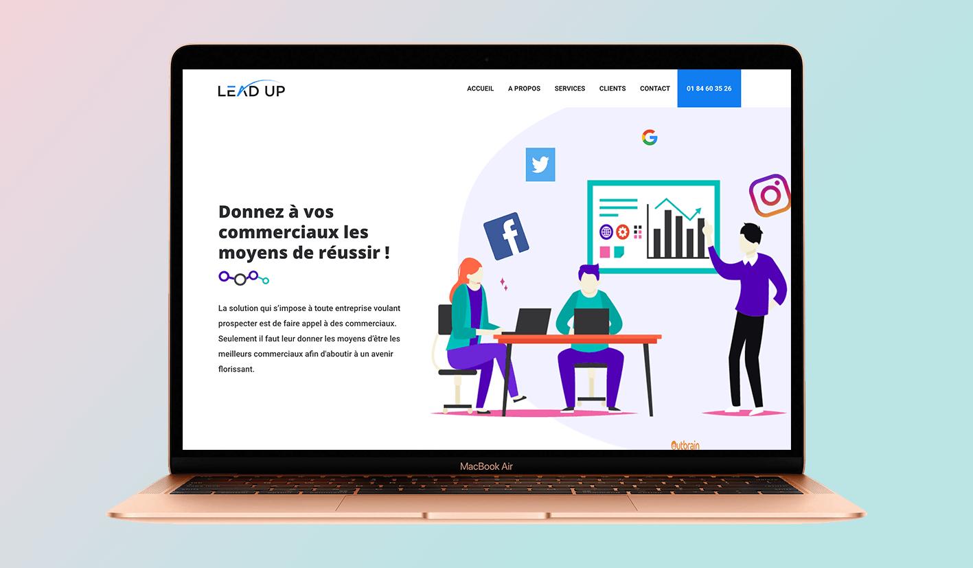 Likeweb agence web lead up design site internet création site internet